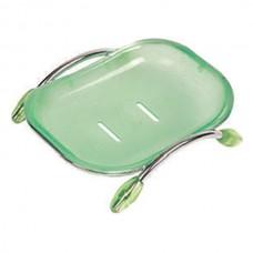 ZERIX LR333 Мыльница настольная (пластик зеленый)