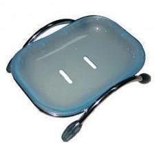 ZERIX LR334 Мыльница настольная (пластик синий)