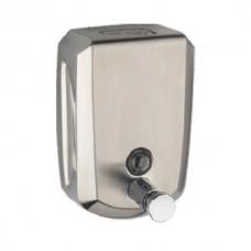 ZERIX LR404 Дозатор настенный (металл, сатин) 500мл