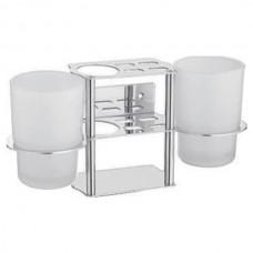 ZERIX LR103 Подставка под 2 стакана, з/щетки и пасту (20 шт/ящ)