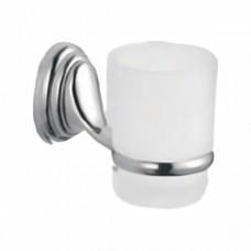 ZERIX LR1506 Стакан одинарный настенный (стекло) (80 шт/ящ)