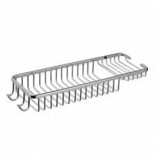 ZERIX LR338 Полка прямоугольная (решетка) 350x130мм (20 шт/ящ)