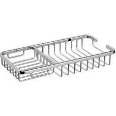 ZERIX LR337 Полка прямоугольная (решетка) 250x130мм (20 шт/ящ)