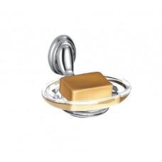 ZERIX LR1502 Мыльница настенная (стекло)  (80 шт/ящ)