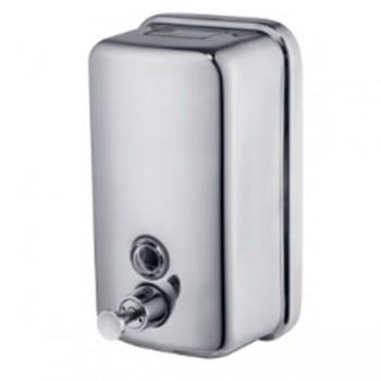 ZERIX D-500-SUS Дозатор для жидкого мыла настенный из нерж. стали SUS304 (30 шт/ящ)