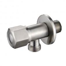 ZERIX LR70508C Кран вентильный для подключения сантехприборов из нерж. стали SUS304