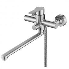 MIXXUS DAX-006 (EURO) Смеситель для ванны из нерж. стали SUS304 (20 шт/ящ)