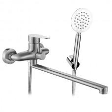 MIXXUS LEO-006 (EURO) Смеситель для ванны из нерж. стали SUS304 (12 шт/ящ)