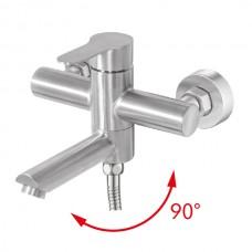 HAIBA DAX-009 (EURO) Смеситель для ванны из нерж. стали SUS304 (10 шт/ящ)