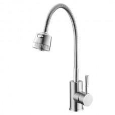 HAIBA SUS-011 REFLECTOR Смеситель для кухни из нерж. стали SUS304 (10  шт/ящ)