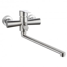 ZERIX LUX-006 (EURO) Смеситель для ванны из нерж. стали SUS304 (8 шт/ящ)