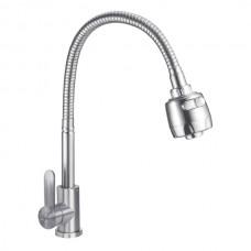 ZERIX SAS-011 REFLECTOR Смеситель для кухни из нерж. стали SUS304 (10 шт/ящ)