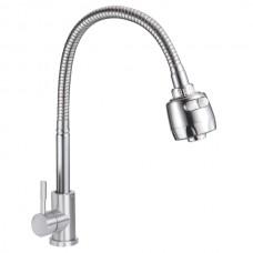 ZERIX SUS-011 REFLECTOR Смеситель для кухни из нерж. стали SUS304 (10 шт/ящ)