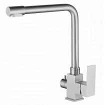 MIXXUS KUB-021 Смеситель для кухни из нерж.стали SUS304 с вых. для питьевой воды (10 шт/ящ)