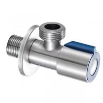 MIXXUS VAL-03 Кран для подключения сантехприборов 1/2x3/4 из нерж. стали SUS304 (синий) (100 шт/ящ)