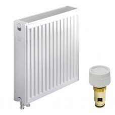 Стальной радиатор KOER 22 x 500 x 700B (1351 Вт, 20,74кг, низ, с термоклапаном)