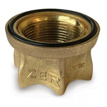 ZERIX WKM-028 Гайка для смесителей серии YUB (240 шт/ящ)