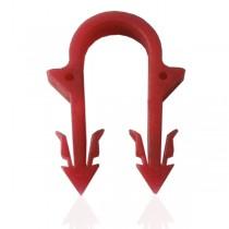 KOER KR.8010 Скоба якорная 40 мм (красная) (100 шт/пакет, 5000 шт/мешок)