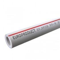 EUROPRODUCT PPR Труба PN20 25x4,2 (60 м/кулек)