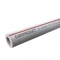 EUROPRODUCT Труба Композит Алюминий 63x10,5 (12 м/кулек)