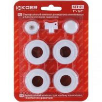 """KOER SET-01 Комплект для радиатора 1/2"""" Без креплений  (40 шт/ящ)"""