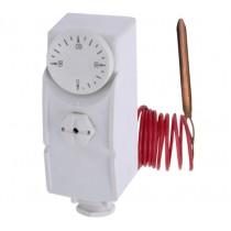 KOER KR.1352 Термостат механический накладной с выносной гильзой (0…+90*C) (50 шт/ящ)