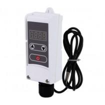 KOER KR.1355E Термостат электрический накладной с выносной гильзой (+5…+90*C) (50 шт/ящ)