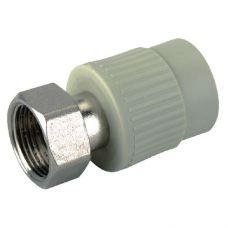 KOER PPR Муфта с накидной гайкой 25x3/4F (K0142.PRO) (210 шт/ящ)