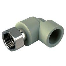 KOER PPR Угол с накидной гайкой 20x1/2F (K0144.PRO) (210 шт/ящ)