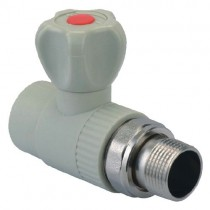 KOER PPR Кран радиаторный прямой 20x1/2 (K0159.PRO) (108 шт/ящ)