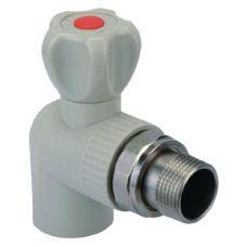 KOER PPR Кран радиаторный угловой 25x3/4 (K0158.PRO) (72 шт/ящ)