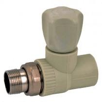 KOER PPR Вентиль радиаторный прямой 20x1/2 (K0165.PRO) (100 шт/ящ)