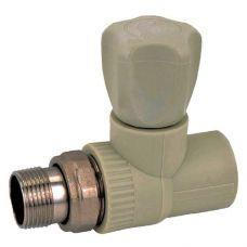 KOER PPR Вентиль радиаторный прямой 25x3/4 (K0166.PRO) (80 шт/ящ)