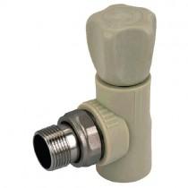 KOER PPR Вентиль радиаторный угловой 20x1/2 (K0167.PRO) (110 шт/ящ)