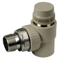 KOER PPR Кран термостатический угловой 25x3/4 (K0150.PRO) (80 шт/ящ)