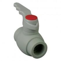 KOER PPR КШ (ручка) для горячей воды 25 (K0176.PRO) (80 шт/ящ)