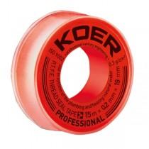 KOER ФУМ лента Professional STP-11 Water 15М