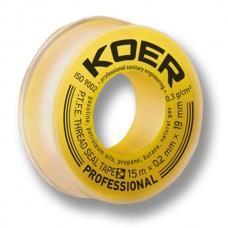 KOER ФУМ лента Professional STP-12 Gas 15М