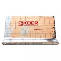 KOER пленка теплоотражающая металлизированная с разметкой, РУЛОН 50 м
