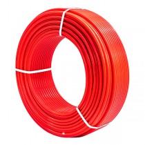 KOER PERT EVOH 16*2,0 (RED) труба ТЕПЛЫЙ ПОЛ с кислородным барьером (400 м/уп)